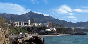 Image coast of Nerja